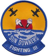 Fighter Escadron 111 VF-111 États-Unis Bleu Marine USN patch brodé