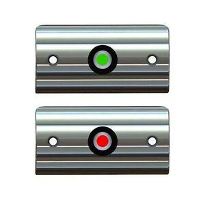Taco Marine Rub Rail Mounted LED Navigation Light Set 3-3/8'' F38-6602-1
