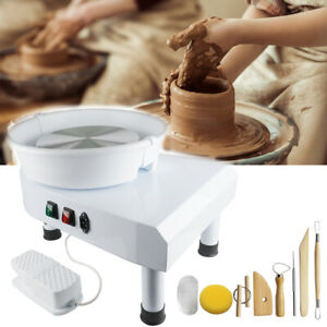 110V Electric Pottery Wheel Forming Machine Ceramic Work Clay Art Craft Machine
