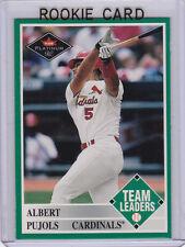ALBERT PUJOLS ROOKIE CARD 2001 Fleer Platinum RC Baseball CARDINALS LA ANGELS!