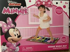 Floor Piano Kids Step On Musical Toy Disney Minnie Mouse Music Mat Memory Game