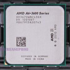 AMD a6-Series a6-3670k ad3670wnz43gx CPU Processor 2.7 GHz SOCKET fm1