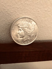 1923 Silver Peace Dollar Beautiful Condition Free shipping