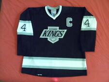 Starter LA L.A. Los Angeles Kings Authentic Rob Blake Jersey 90s vintage size 56