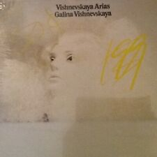 STILL SEALED S/S classical LP: Galina Vishnevskaya Arias Prokofiev, Verdi more