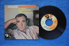 CHARLES AZNAVOUR / EP BARCLAY 70703 / VERSO 2  LABEL 3 / BIEM 1964 ( F )