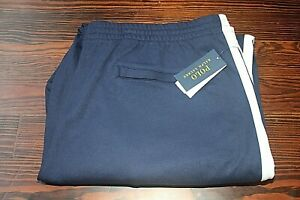 Polo Ralph Lauren Men's Navy Cotton Interlock Jogger Track Pants Sz 4XLT NWD