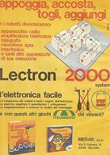 X7692 Lectron 2000 System - Pubblicità del 1977 - Advertising