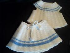 Baby Girl 18 24 Months 2T Handmade Crochet Wool Clothes Outfit Lot 18M 24M 2yr