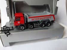 Actros 4144  Beyer Baustoffe GmbH  95180 Berg 4 Achs Rundmulde Halfpipe 909082