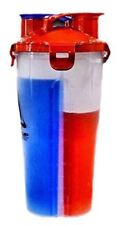 2 SECTION PROTEIN SHAKER- STORAGE COMPARTMENT GYM BOTTLE