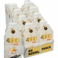 4BRO Peach Ice Tea  8x0.50l  Packung