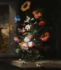 "oil painting handpainted on canvas""Floral Still Life""@15024"