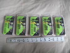 (5) NEW Greenlee DTAP6-32 Drill Tap Countersink Quick Release Bit NC (pkg)