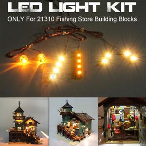 LED Light Lighting Kit ONLY For Lego 21310 Old Fishing Store Building Block
