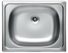 Edelstahl Küchenspüle Einbauspüle Küchen Spüle Spülbecken Waschbecken 40x50cm Z7