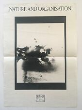 Nature And Organisation Promo Poster Rare Flyer Current 93 Death In June NWW