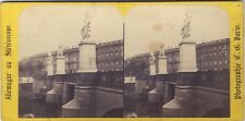Allemagne Berlin Photo Charles Gaudin Paris Stereo Vintage albumine ca 1865