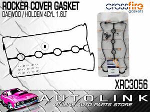 ROCKER COVER GASKET SET FOR DAEWOO LANOS T100 A16DMS 1.6lt 4CYL 1997 - 2003