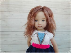 """Mohair wig for doll little darling 13"""" Dianna Effner"""