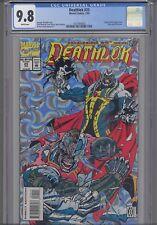 Deathlok #25 CGC 9.8 1993 Silver Cover Black Panther Marvel Comic : New Frame