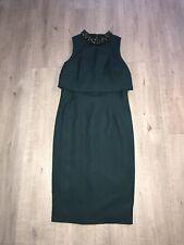Coast Dress, Emerald Green, UK Size 12