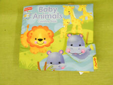 Fisher Price Precious Planet Baby Animals Counting Crinkle Baby Cloth Book