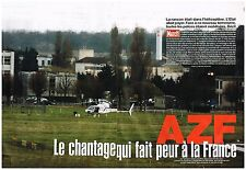 Coupure de presse Clipping 2004 (4 pages) AZF le chantage qui fait peur