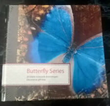 LOT of 5 Butterfly Notecards REUSABLE DECORATIVE BOX NEW! 20 Asstd. Cards in EA.