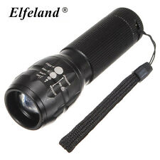 10000LM Elfeland 3 Modes T6 LED Flashlight Torch Bike Bicycle Head Lamp Light
