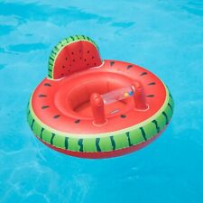 Swimline Watermelon Baby Seat Swimming Pool Inflatable Float #98403