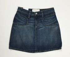 Paper jeans minigonna gonna nuovo donna denim w25 tg 39 azzurro sexy hot T4230