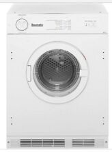 Baumatic BTD1 Built-in Vented Tumble Dryer 6kg White New