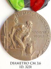 """Fascismo Torino 1a Legione Ferrea M.V.S.N. 1923 medaglia """"3231�"""