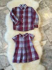 Bella Bliss Matching Siblings - Button Down and Dress