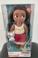Disney Store Animators Collection Moana Toddler Doll - Moana 2020