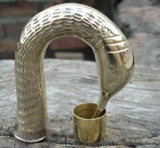 Brass Designer Antique Style Cane Wooden Walking Stick Vintage Canes handle