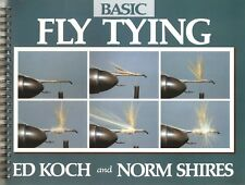 KOCH ED FISHING AND FLYTYING BOOK BASIC FLY TYING paperback BARGAIN new