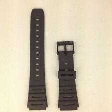 Casio CA-53W Genuine Replacement Band CA61W / W-720G Black Rubber Watch Strap