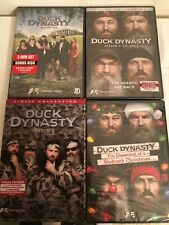 Duck Dynasty Seasons 1 2 & 3 + Dreaming of a Redneck Christmas DVD LOT 8 Discs