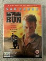 Nowhere to Run DVD (2003) Jean-Claude Van Damme, Harmon (DIR) cert 15