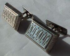 Manschettenknöpfe / 835 Silber / Juwel