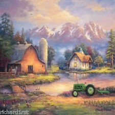 Jigsaw puzzle Americana Reflection at Day's End 1000 piece NEW