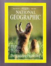 National Geographic April 1998 like new Prairie Dog Australia Ozarks Roman Ships