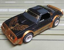 para H0 coche slot racing Maqueta de tren PONTIAC FIREBIRD con TOMY CHASIS