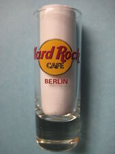 BERLIN,Hard Rock Cafe,Shot Glass,New,Black Circle,Red Letters