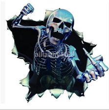 Fashion Cool Skull Car Truck Decal Vinyl Graphics Side Sticker New US