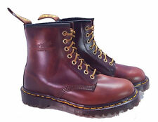 Dr. Martens Doc 1460 England Rare Vintage Tan Analine Leather Boots UK 4 US 6