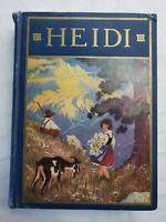 Heidi by Johanna Spyri 1928 Windermere series