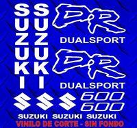 Kit Adhesivos SUZUKI DR 600, sticker, decal, autocollant, adesivo, pegatinas
